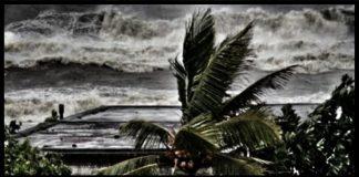 Storm at Coxbazar